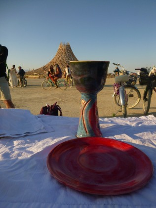 the Chalice and the Temple
